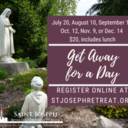 July Get Away for a Day, $20