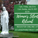 SOLD OUT! Women's Silent Retreat, $170