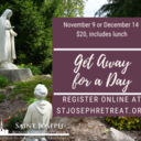 Get Away for a Day, November 9, 2021 $20