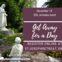 Get Away for a Day, December14, 2021 $20