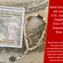 Seven Sorrows & Joys of St. Joseph Chaplet Available in The Carpenter's Shop