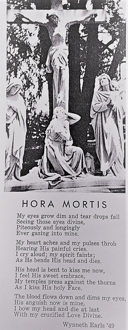 hora mortis crucifix cemetery mary magdalene jesus