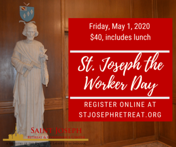 St. Joseph the Worker Day of Reflection