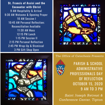 Parish & School Administrative Professionals Day of Reflection (Diocese of Lafayette, IN)
