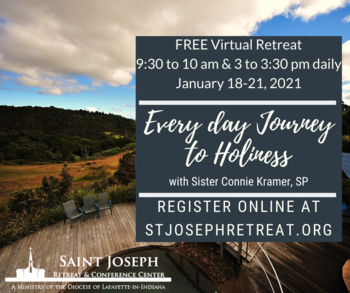 Every Day Journey to Holiness FREE Virtual Retreat for Senior Adults
