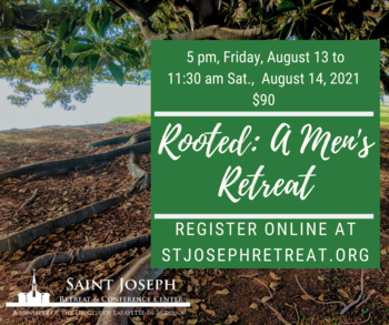 ROOTED: A Men's Retreat, $90
