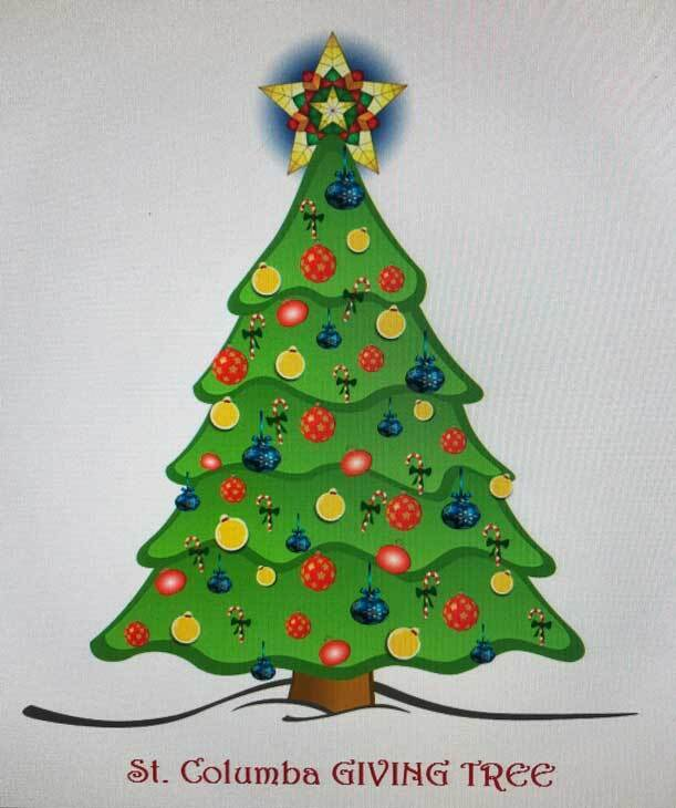 Drawing of a Christmas Tree