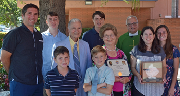 Knights of Columbus Family of the Month for October
