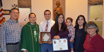 Knights of Columbus Family of the Month for November 2019