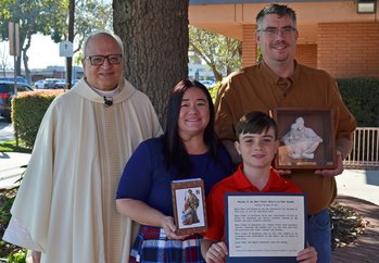 Knights of Columbus Family of the Month for February 2020