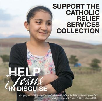 Second Collection for Catholic Relief Services