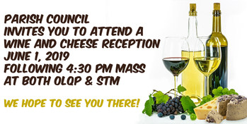 Pastoral Council Wine & Cheese Reception