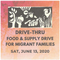 Food Drive for Members of the Migrant Community