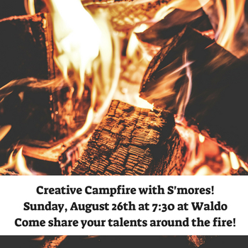 Youth Ministry Event: Creative Campfire With S'mores!
