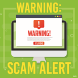 Please BEWARE of Email Scams
