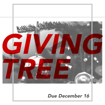 Christmas Giving Tree Presents Due