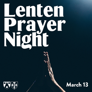 Lenten Prayer Night