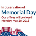 Parish Office Closed May 28