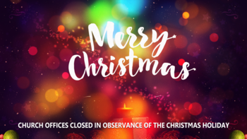 Parish Office Christmas Closings