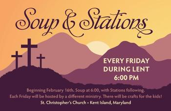 Soup & Stations on Friday