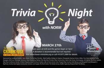 Haven Ministries Trivia Night