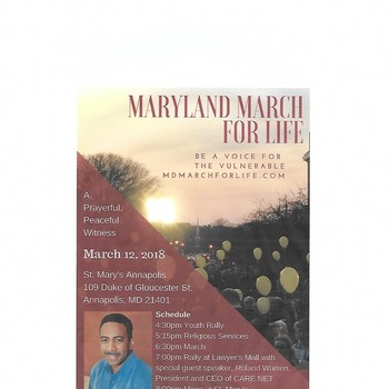 Maryland March for Life