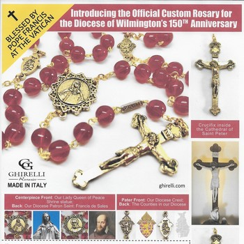 Order your Sesquicentennial Custom Rosary before they are gone.