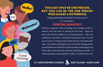Greeter Ministry