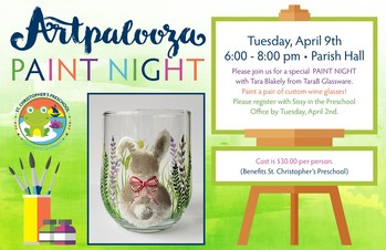 Artpalooza Paint Night