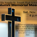 Join us for VASJ's Alumni Memorial Mass on Saturday, November 7