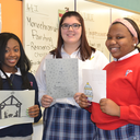 Art students compete in Christmas card design contest