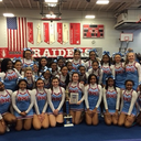 VASJ Cheerleaders take first place in Big Chill Challenge Cheerleading Competition