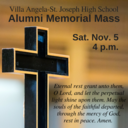 VASJ to remember souls at Alumni Memorial Mass