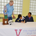 Senior volleyball player Danielle Hicks signs with Division I Eastern Kentucky