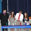Thirteen students inducted into National Honor Society