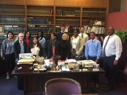 VASJ Street Law class visits Cleveland Municipal Court