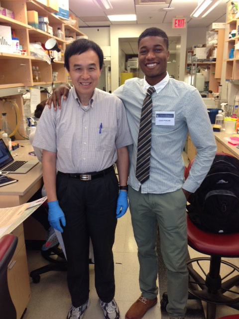 VASJ junior Chad Porter spends summer researching cancer at Case Western Reserve University