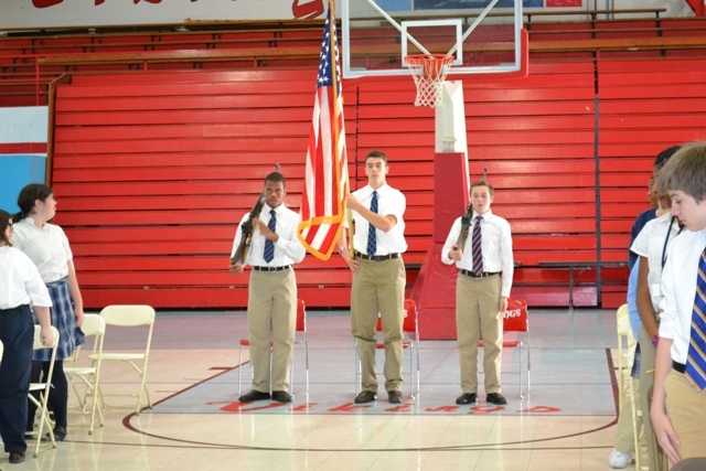 VASJ Inaugurates New Color Guard