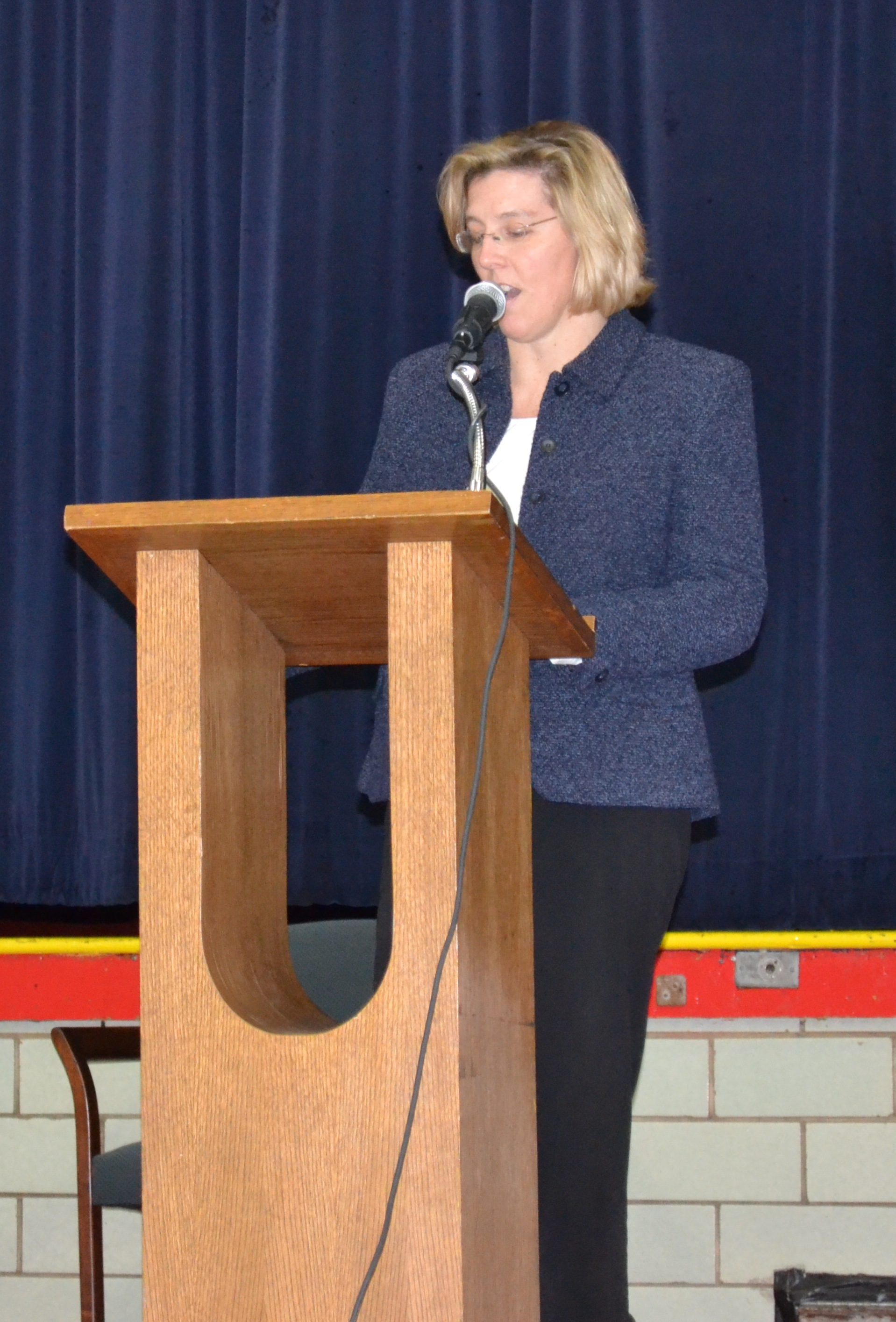 Nearly 150 VASJ students recognized at honor roll assembly