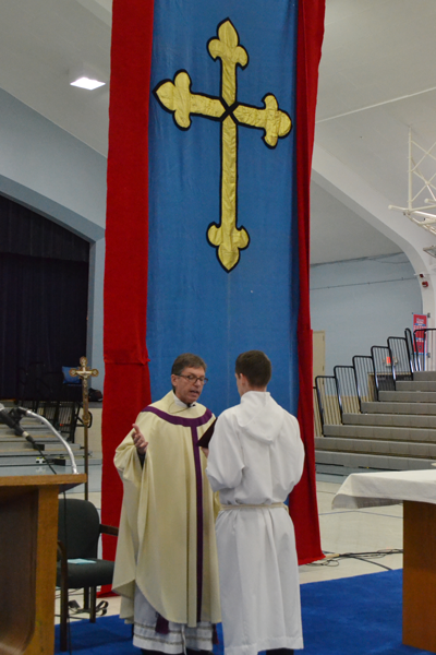 VASJ celebrates the Feast of the Immaculate Conception with Mass celebrated by Fr. Joe Fortuna