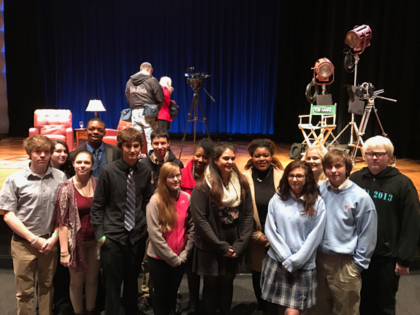 VASJ Drama Club has opportunity to hear from Tom Hanks live and in person