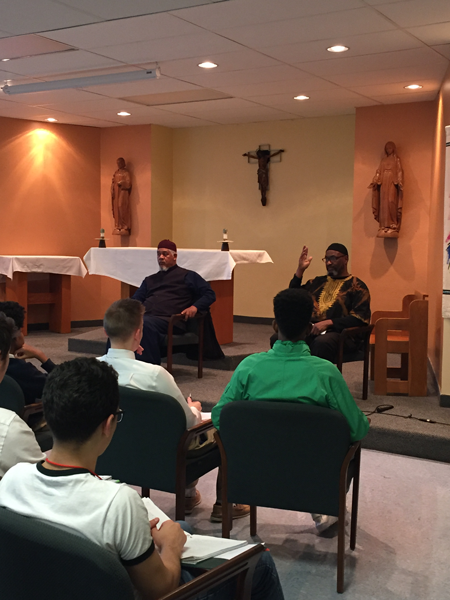 VASJ World Religion segment on Islam comes to life with guest speaker