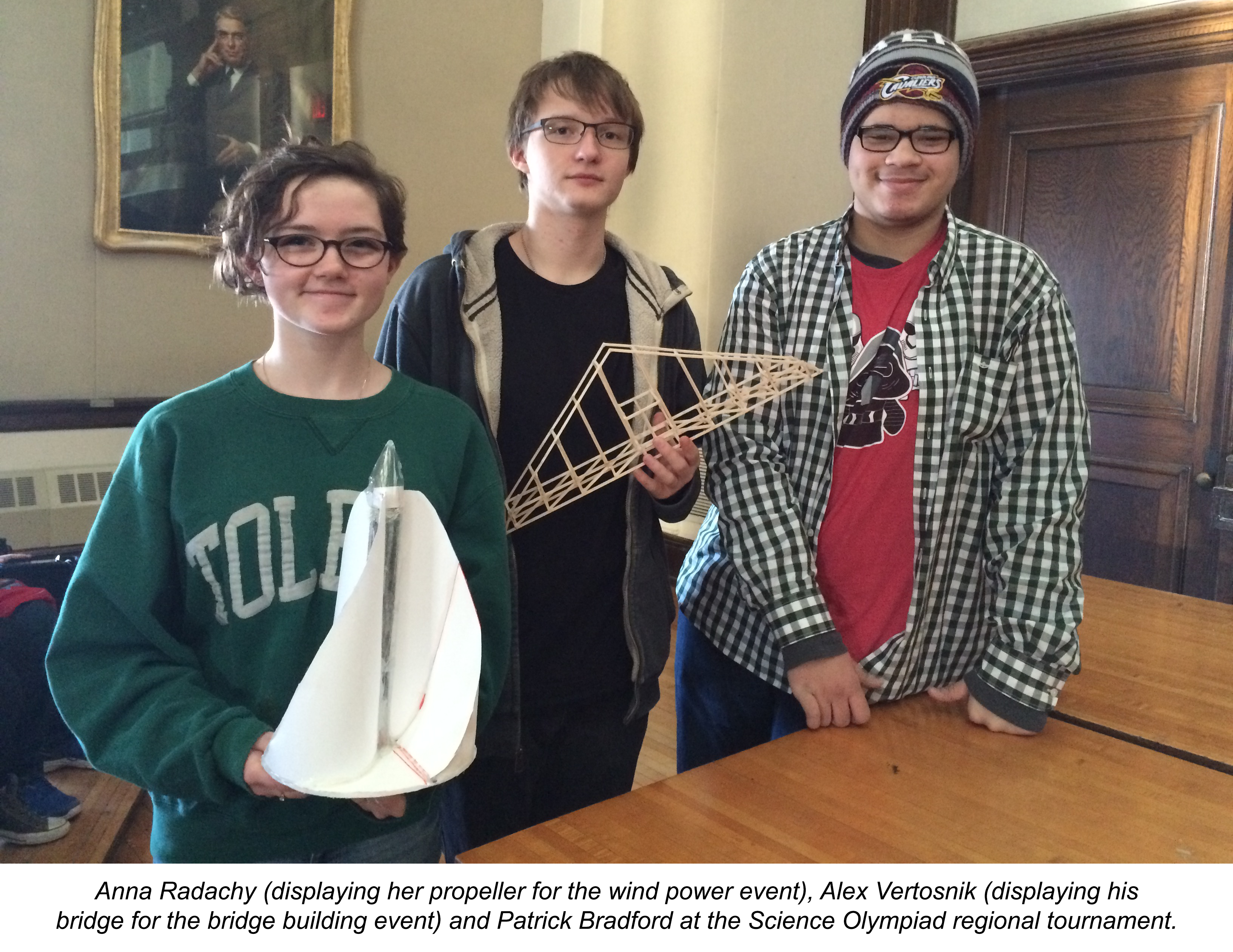 VASJ students compete in Science Olympiad competitions