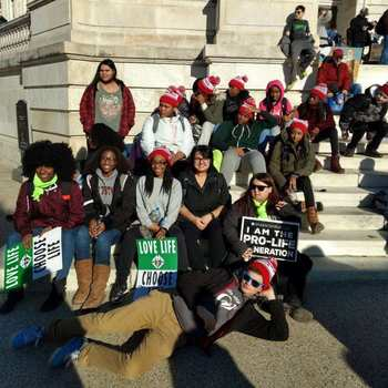 VASJ students 'March for Life' in Washington D.C.