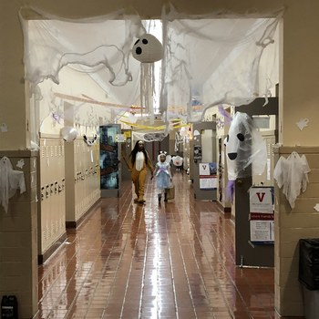 VASJ students host 27th Annual Halloween on Campus event