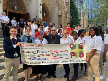 VASJ students participate in CSPJ Mass and Rally for Life
