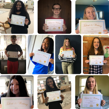 14 VASJ students selected for poetry publication