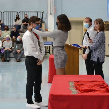 VASJ inducts 24 students into National Honor Society