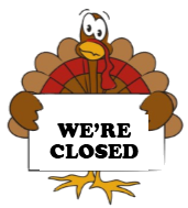 Church Office Closed Thanksgiving Day and Friday