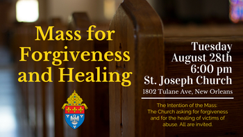 Mass for Forgiveness and Healing